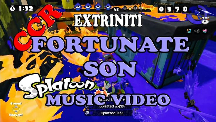 "Extriniti ""Fortunate Son"" (CCR) Cover Splatoon Music Video. xtriniti'com cover song Splatoon Music Video version of Creedence Clearwater Revival's hit rock song ""Fortunate Son"". #Extriniti #CreedenceClearwaterRevival #CCR #RockCover #CoverSong #Splatoon"