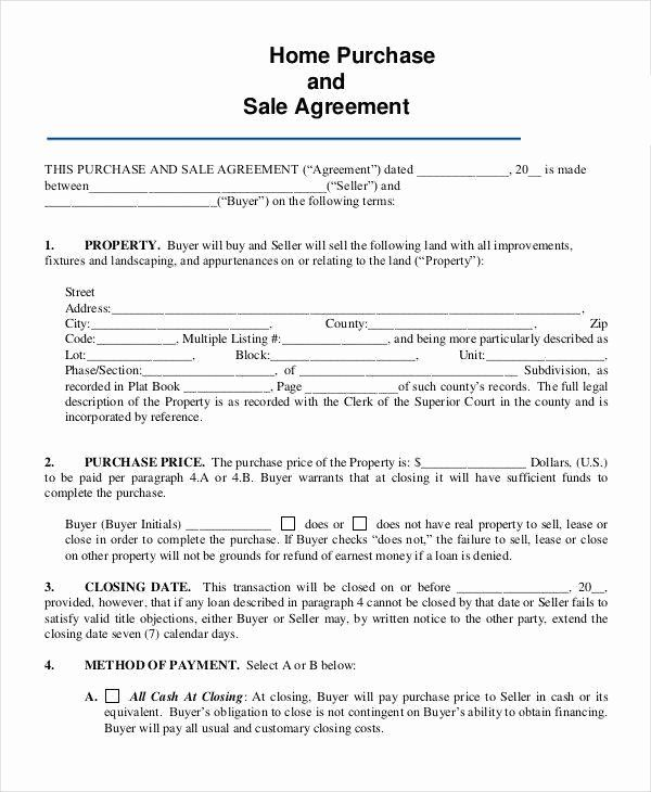 How To Get Out Of A Home Sale Contract