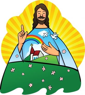 Religious Bulletin Board Ideas  Jesus Loves the Little Children   and Jesus wants me for a Sunbeam