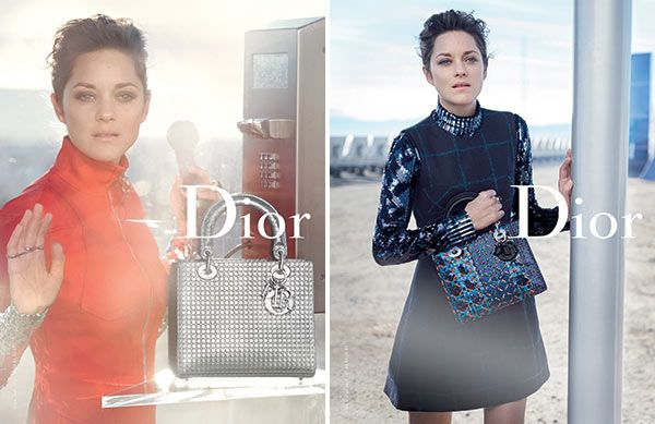 Marion Cotillard's Lady Dior Campaign: Stuns In Futuristic Shoot