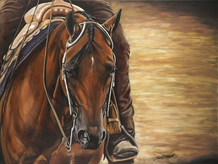 """""""Under The lights"""", acrylic on canvas. By Sara Cuthbert"""