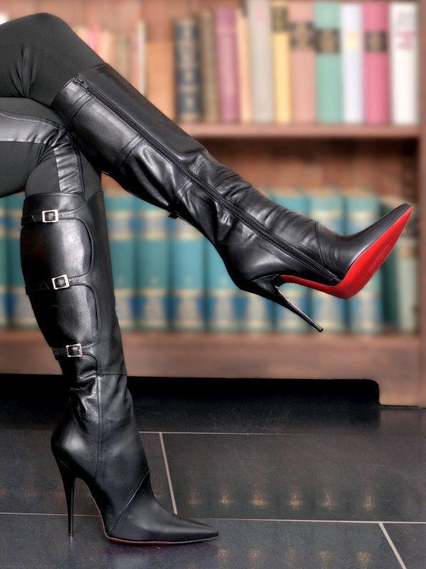 Erotic high heel boot stories