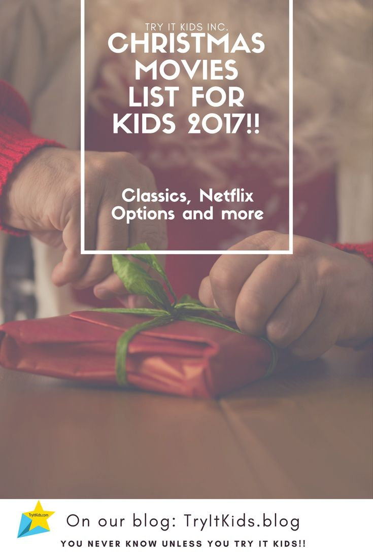 A great list of movies that kids can watch over the holiday season!