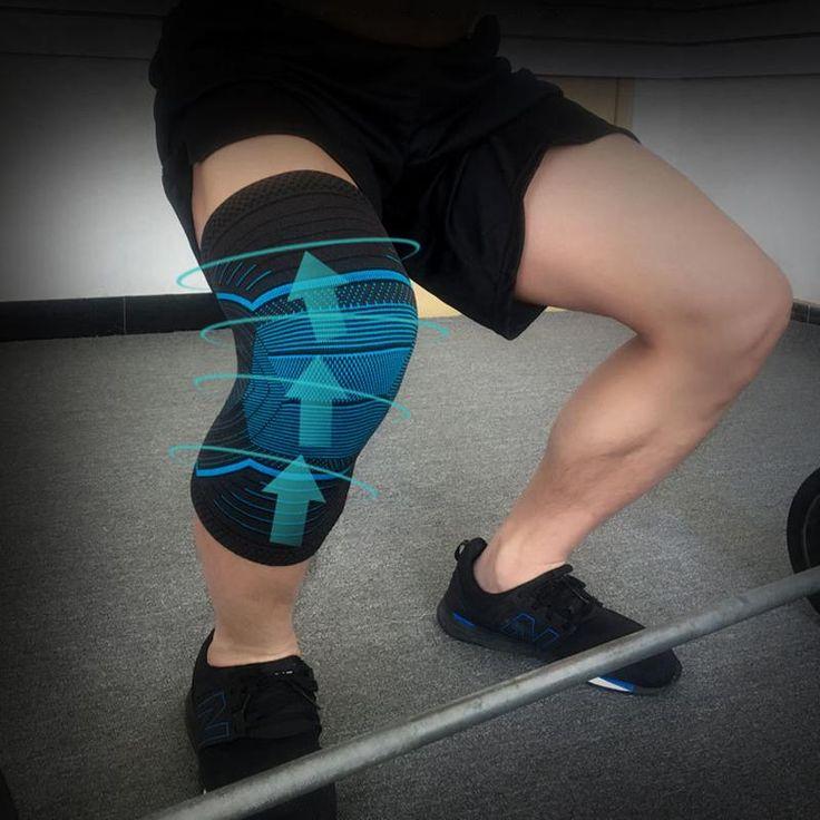 Basketball Knee Pads Knitting Anti Slip Rodilleras