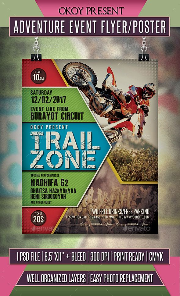 Sport Event Flyer   Poster Event flyers, Event flyer templates - event flyer