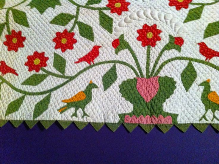 88 best Birds on quilts images on Pinterest | Antique quilts ... : repro quilt lover - Adamdwight.com