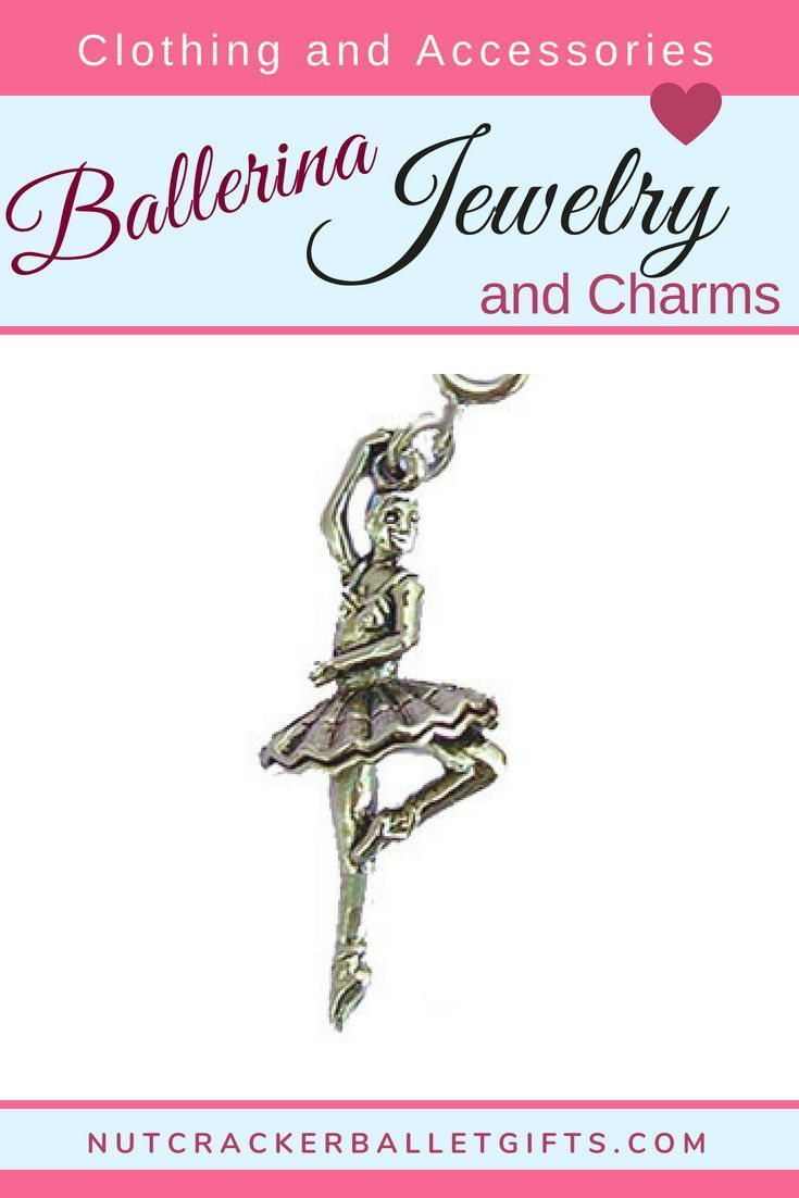 380e62977 Sugar Plum Fairy Ballerina in Gold or Silver Charm in 2019 | Ballet and  Nutcracker Clothing and Accessories | Silver charms, Sugar plum fairy,  Ballerina