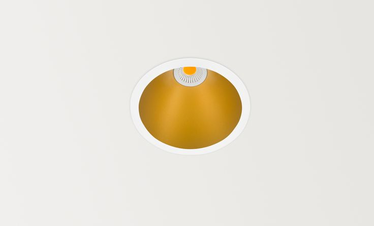 Swap gold - LED luminaire. Ceiling downlight (Ceiling Recessed). — in Arkoslight.