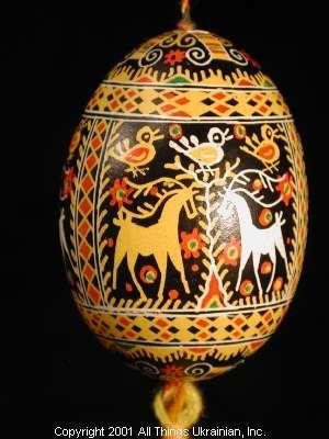 Ukrainian Easter Egg Pysanky01-182   from the Lviv Region on AllThingsUkrainian.com