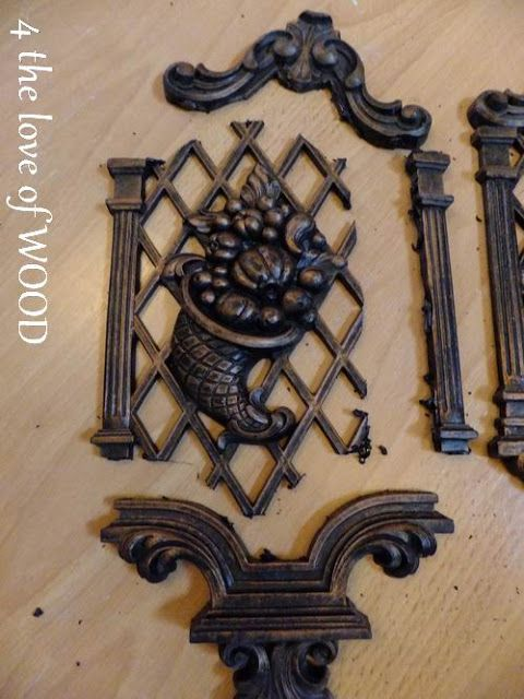 wood furniture appliques. 4 The Love Of Wood: FURNITURE APPLIQUES - Trumeau Mirror Wood Furniture Appliques