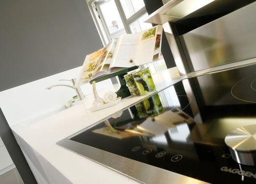 Inductie kookplaat en afzuigkap Gaggenau | Tieleman Keukens