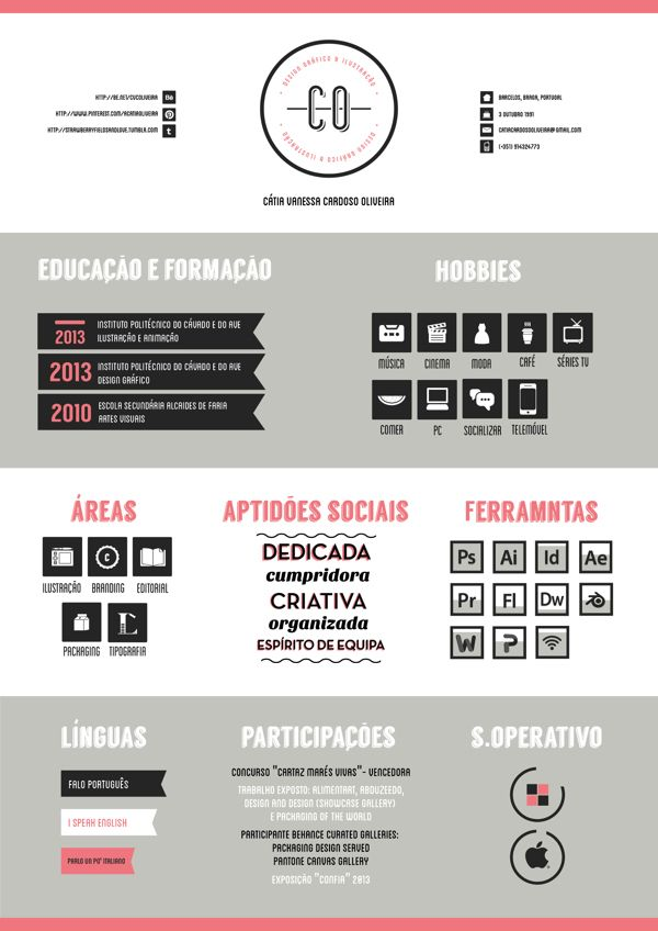 70 best Curriculum Vitae u003d CV, Resume images on Pinterest - resume vs curriculum vitae