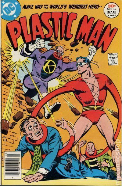 Plastic Man (1966 1st Series DC) 16