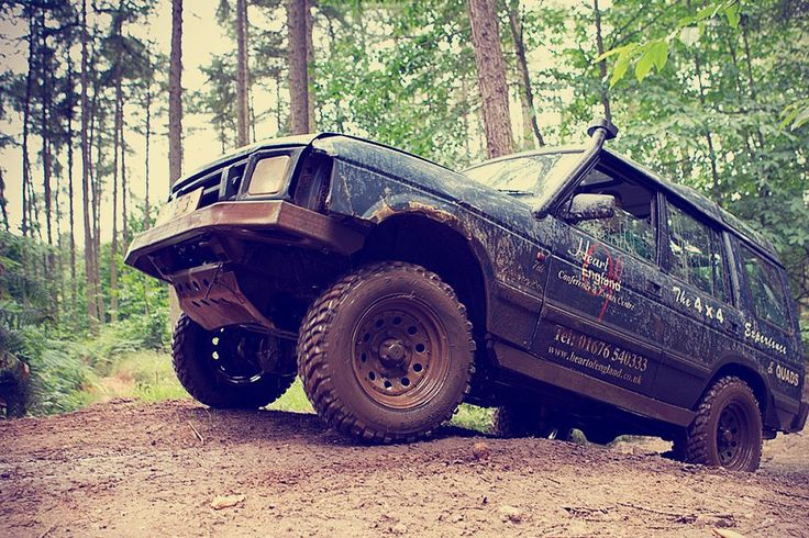 Stag do idea: Off Road 4x4 Driving. Who needs roads when you've got brute force and a sturdy 4x4 at your disposal? Take your vehicle over terrain normally only seen in 4x4 ads on a day of real off-roading experience.