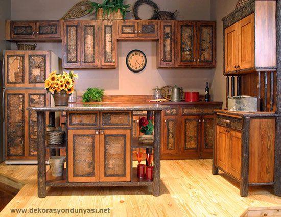 rustik mutfaklar 2014