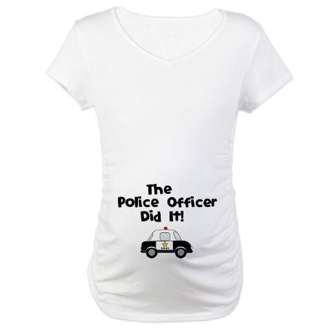 The Police Officer Did It shirt :)
