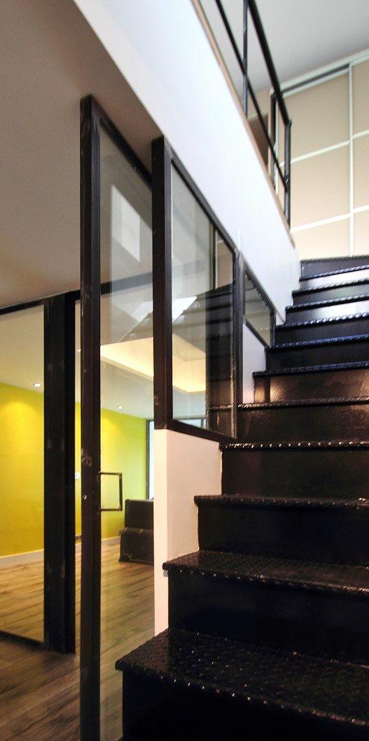 120 best images about escalier sur pinterest cuisine r novation et biblioth ques. Black Bedroom Furniture Sets. Home Design Ideas