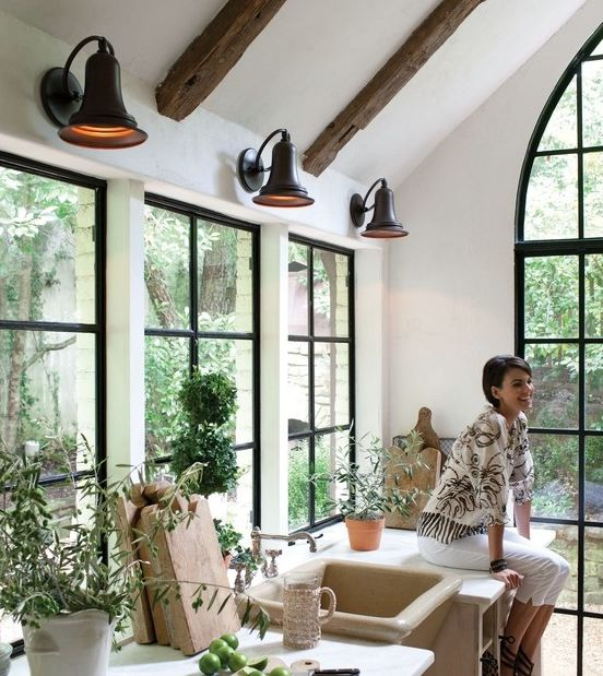 Wood Mullions For Windows : Can you do black window muntins mullions adds so much
