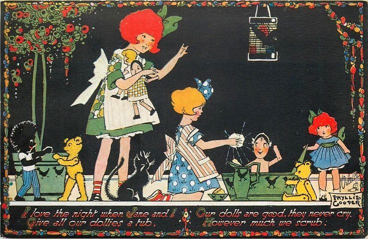 """MAKE DO DOLLS"": Raphael Tuck Dolly Postcards & Miss Ava"
