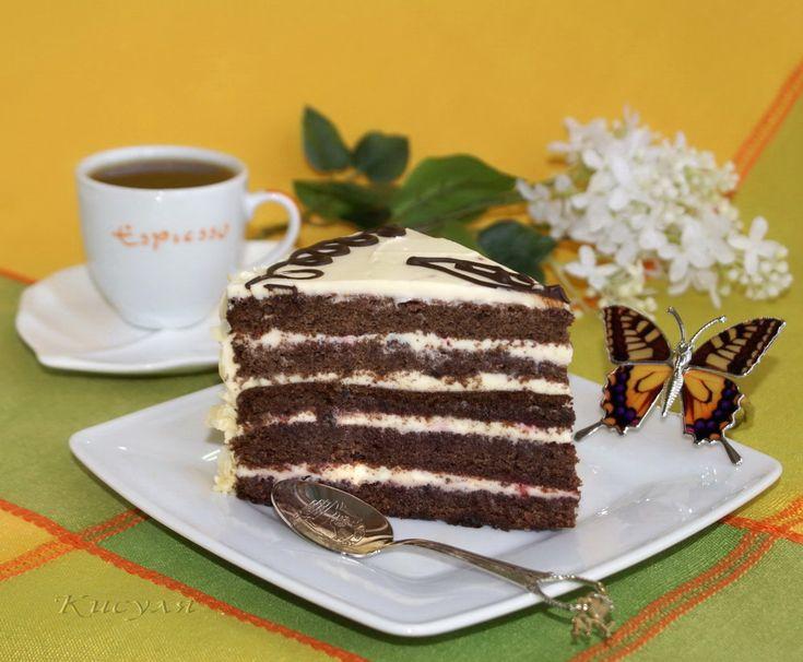 Черёмуховый торт.