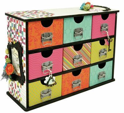 Storage Drawers  sc 1 st  Pinterest & 9 best Kaiser craft images on Pinterest | Storage drawers Boxes and ...