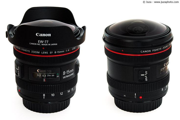 Lente Canon 8-15mm 4.0 L Fisheye USM  Lente olho-de-peixe com zoom e enquadramento total ou circular.  Focus Filme. A sua loja de Equipamentos Fotográficos Profissionais.