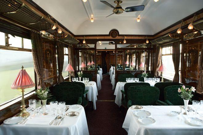 世界で最も豪華な列車「オリエント急行」で走るヨーロッパの旅。     VOGUE