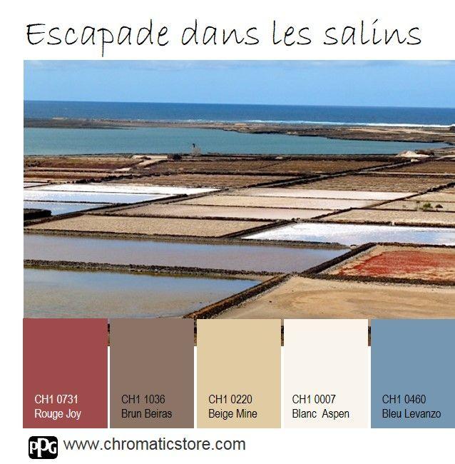 Une palette classique inspir e des marais salants que vous - Associer les couleurs dans une piece ...