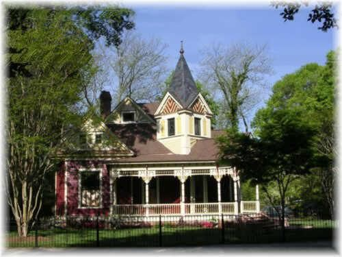 Victorian style homes atlanta ga