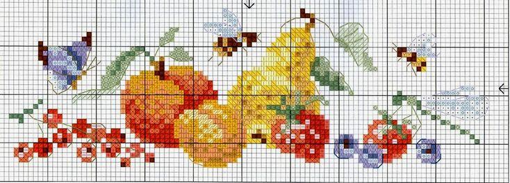 """Милые сердцу штучки: рукоделие, декор и многое другое: Вышивка крестом: """"Колпак для тарелки"""" (3 дизайна)"""