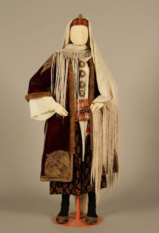 Bridal or festive costume of Kastelorizo, Dodecanese.  Late 19th century © Peloponnesian Folklore Foundation, Nafplion, Greece [http://www.texmedindigitalibrary.eu/?show_item&item_id=351]