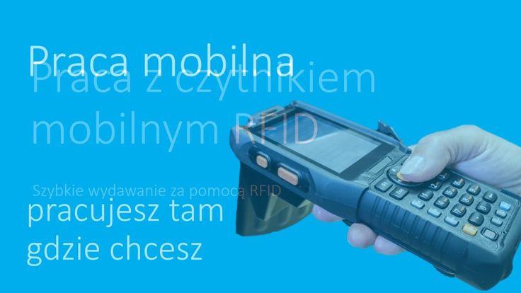 Mobilny kolektor danych RFID  zezwala na zdalną identyfikację przedmiotów w każdym miejscu!