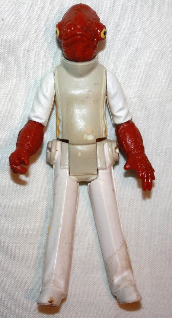 Star Wars Vintage Action Figure Toy 1982 STARWARS. , via Etsy. #StarWarsStarwars Admire, 1982 Starwars