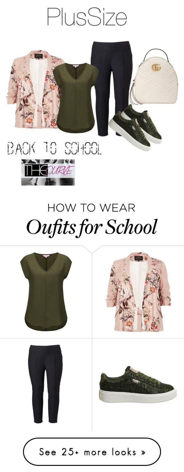 """Back 2 school"" by danielle-sierra on Polyvore featuring River Island, Simply Vera, Puma and Gucci"