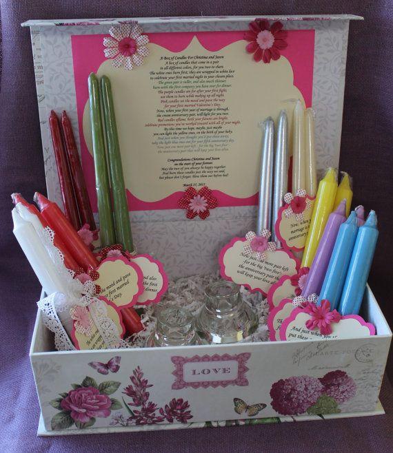 Wedding Gift Of Candles Poem : gift sets poem candles brides forward wedding shower candle poem gift ...