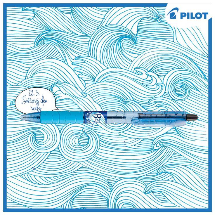 Tipnete si, z kolika procent vody je tvořena naše planeta? #guess #watersday #pilotpencz #happywriting