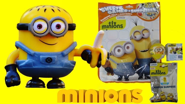 MINIONS Surprise Eggs, Blind Bags And Mega Bloks - 3S