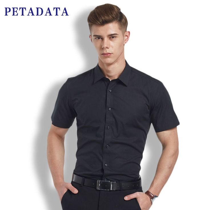 Short Sleeve Mens Casual Shirts Camisa Social Masculina Chemise Homme Marque Luxe Camisas Masculinas Slim Fit Black Shirt Men