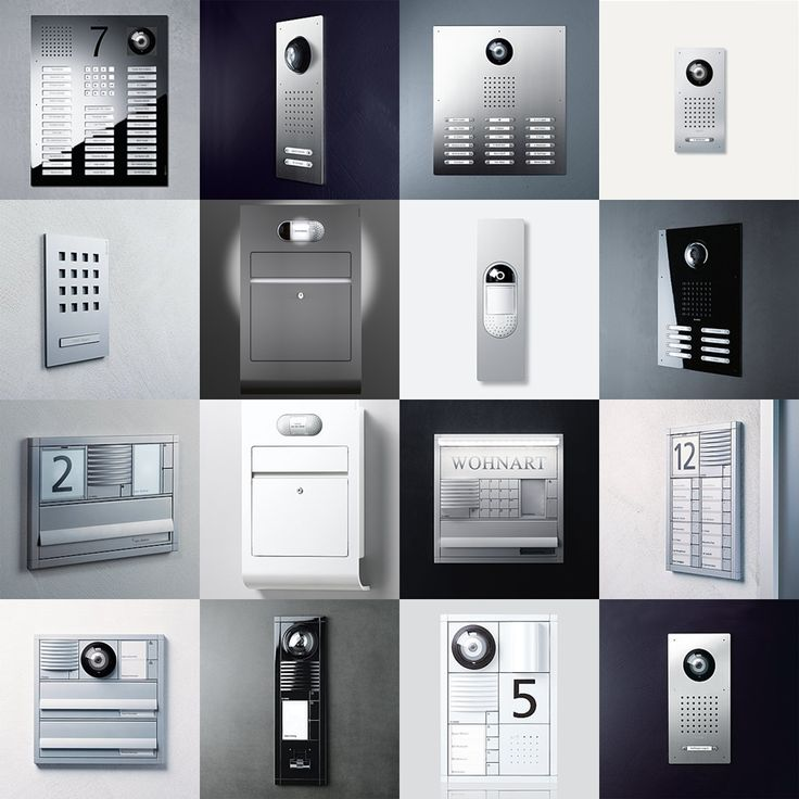 SSS Siedle . . . custom design options to complement the architecture of your threshold . . . #Siedle, #intercom, #purenetworks