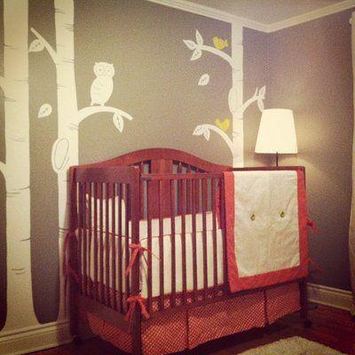 Notre chambre de bébé!