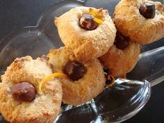 Himmelske kager: Små marcipan-orange kager