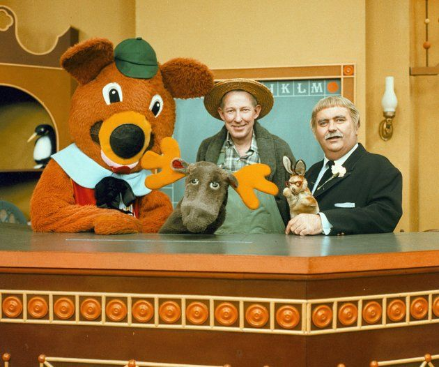 Dancing Bear, Mr. GreenJeans, Mr. Moose, Bunny Rabbit, and of course Captain Kangaroo.