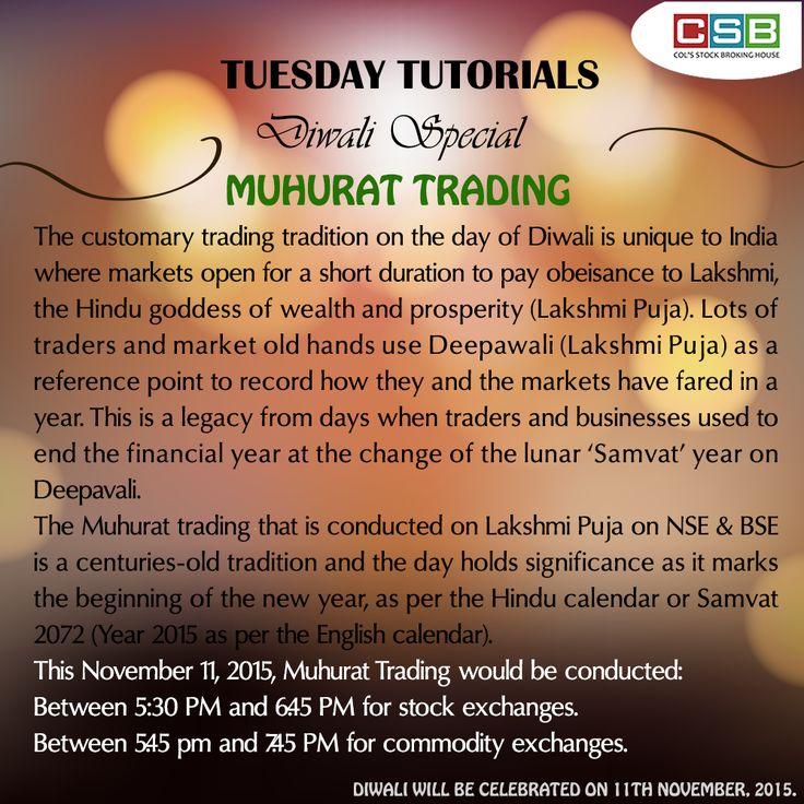 Tuesday Tutorial:  Know the significance of 'Muhurat Trading' #TuesdayTutorial #financedictionary #financelessons #Samvat2072 #TermOfTheWeek