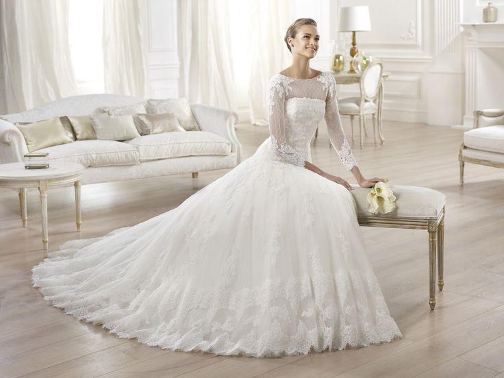 Oneisi - Pronovias 2014 - Esküvői ruhák - Ananász Szalon - esküvői, menyasszonyi és alkalmi ruhaszalon Budapesten