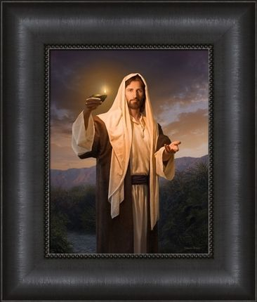 Lead, Kindly Light (17X20) by Simon Dewey. Draw closer to Christ with this framed canvas hanging in your home as a constant reminder of the Savior. #LDS #art #decor