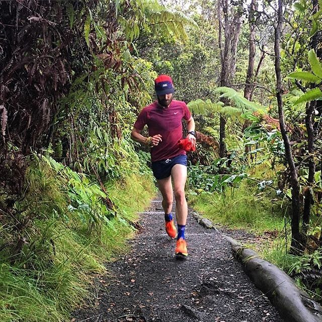 We won't lie. After the first snowfall of the year here in Montreal this photo via @justindshanks run in Hawaii.. has us a little jealous.#RainForest  #Volcano = #Epic #Runventure!! Enjoying an especially spectacular Sunday #run with @cbshanks in @hawaiivolcanoesnps!! #latergram #janjicorps #runforanother #Kilauea #KilaueaIki #RimToRim #HotLava #MindTheGap #cieleathletics #toutlemondecourt #everybodyrun #ciele