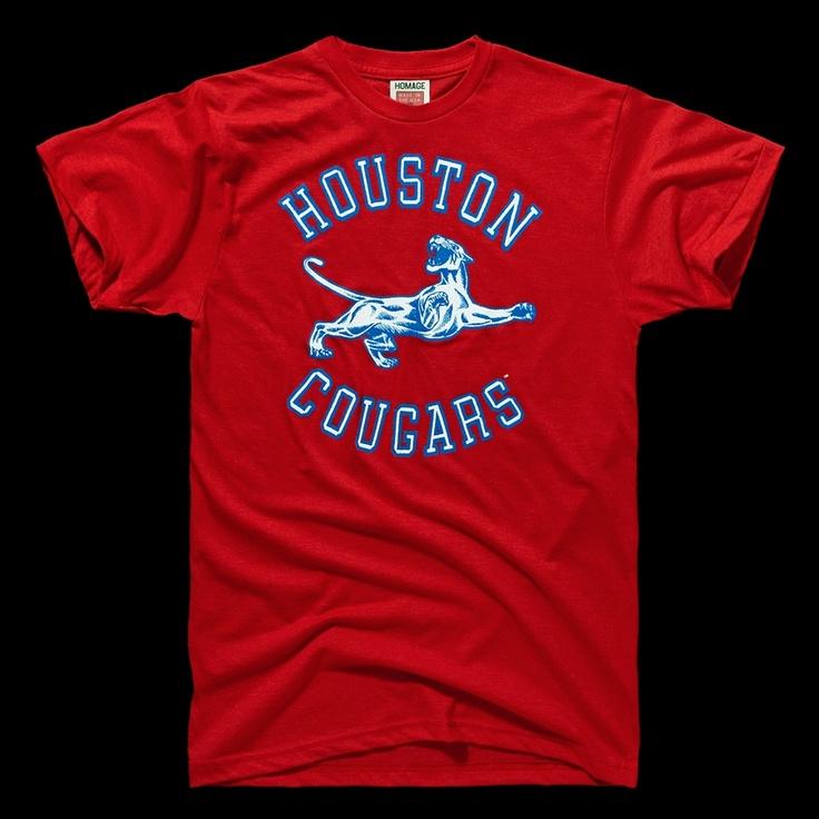 University Of Houston T Shirt College Shirts Shirts