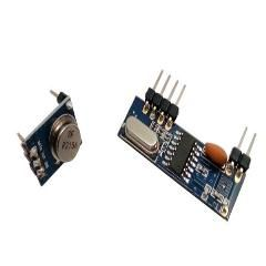 [ 21% OFF ] 10sets rf antenna modules 315MHz ASK transmitter and Superheterodyne receiver module with soldered pin and spring antenna