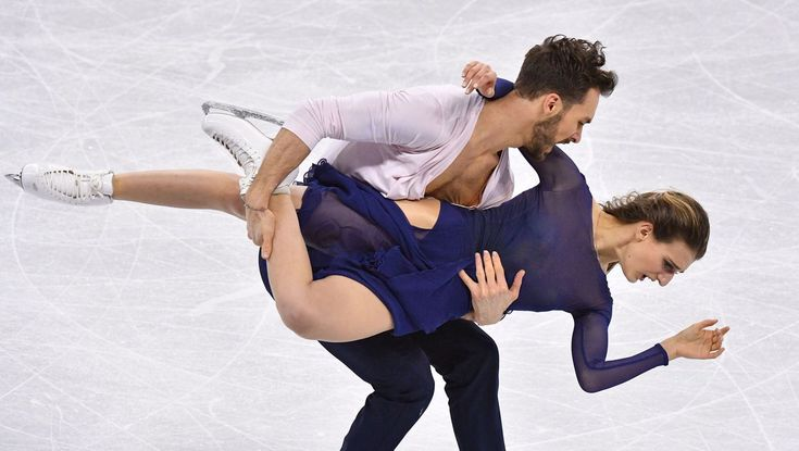 French ice dance team rebounds from wardrobe malfunction to earn silver medal