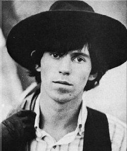 Keith Richards young